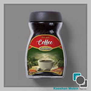 طراحی و چاپ لیبل بسته بندی قهوه توسط کوشا مبین پایا